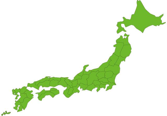 加入可能地域マップ